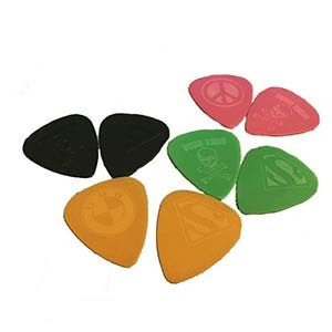 Delrin 3D - Engraved Picks