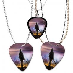 Guitar Pick Necklace - Custom Print