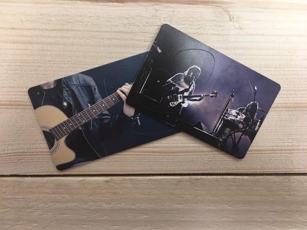 Custom Card Picks - Custom Guitar Picks