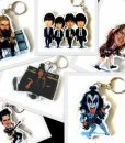Keyring Heroes custom guitar picks