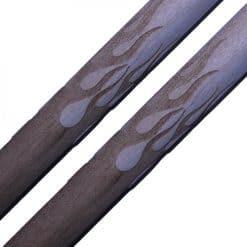 Engraved Drumsticks - Flames