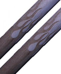 Engraved Drumsticks – Flames