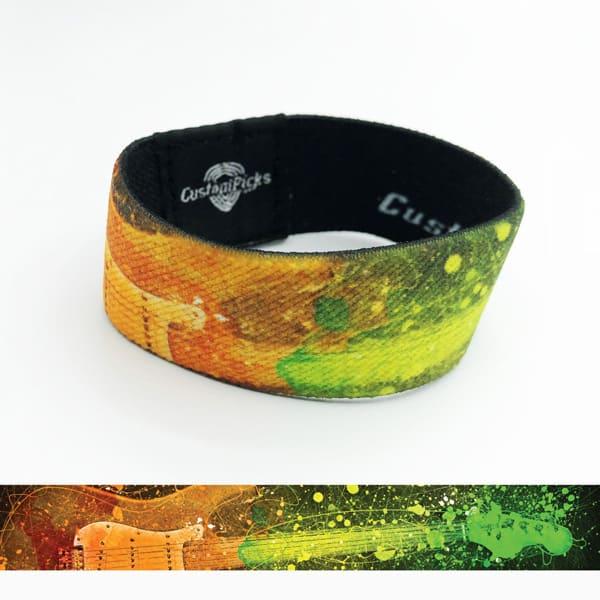Wristband - Rainbow Guitar