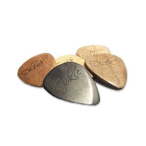 Own Guitar Picks - Custom Wooden Guitar Picks