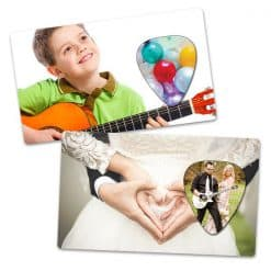 Own Guitar Picks - Wedding Card Picks