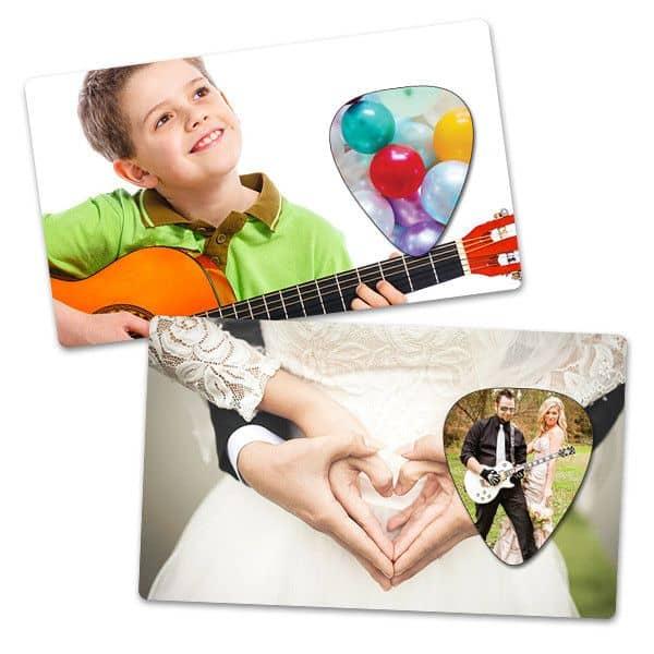 Own Guitar Picks - Wedding Card Picks