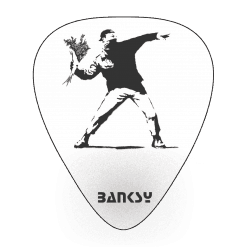 Banksy Picks for your guitar