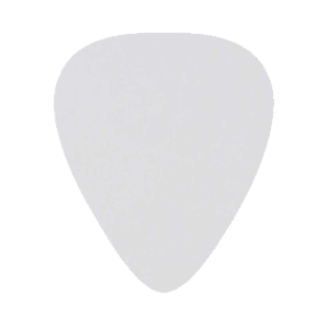 Delrin Picks - White - Custom