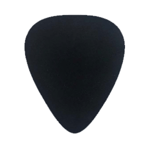 Nylon Picks - Black - Custom