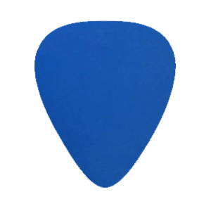 Nylon Picks - Blue - Custom