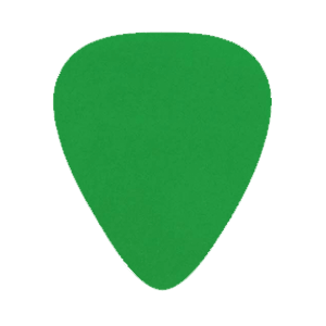 Nylon Picks - Green - Custom