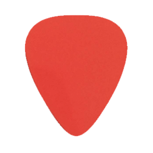 Nylon Picks - Red - Custom