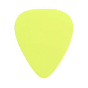 Nylon Picks - Yellow - Custom