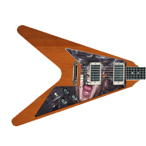 Custom Pickguard - Flying V
